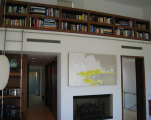 Venice Residence : Rolling Ladder Bookcase