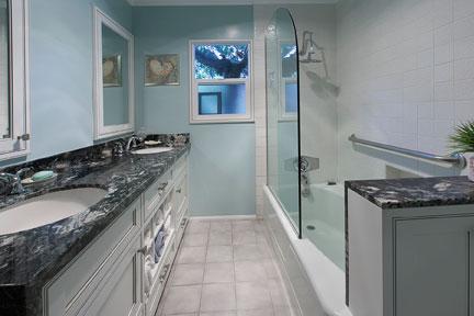 renovated bathroom by Cactus Inc.