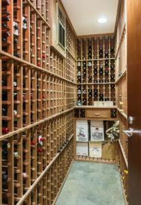 Pasadena Residence: Wine Cellar