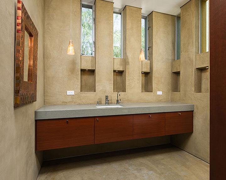 Guest Bath Design & Construction by Cactus, Inc.